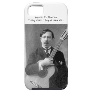 Agustín Pio Barrios, 1922 iPhone 5 Case