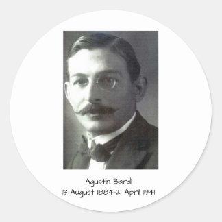 Agustin Bardi Classic Round Sticker