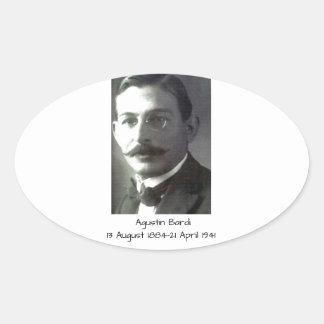Agustin Bardi Oval Sticker