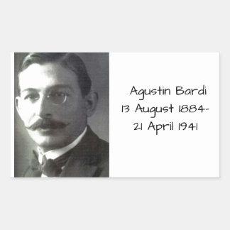 Agustin Bardi Rectangular Sticker