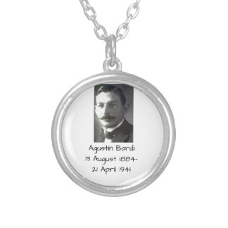 Agustin Bardi Silver Plated Necklace