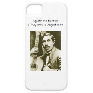 Agustin Pio Barrios Case For The iPhone 5