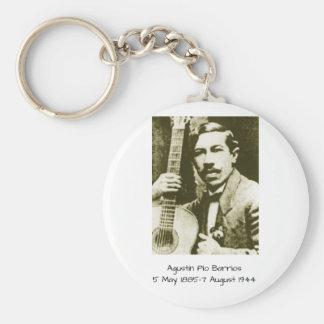Agustin Pio Barrios Key Ring