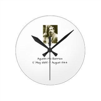 Agustin Pio Barrios Round Clock