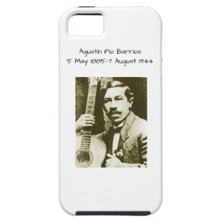 Agustin Pio Barrios Tough iPhone 5 Case