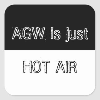 AGW is just Hot Air Sticker