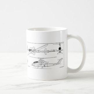 AH1 Blueprint Coffee Mug