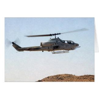 AH-1W Super Cobra Card