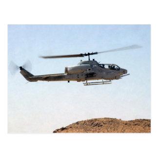AH-1W Super Cobra Postcard