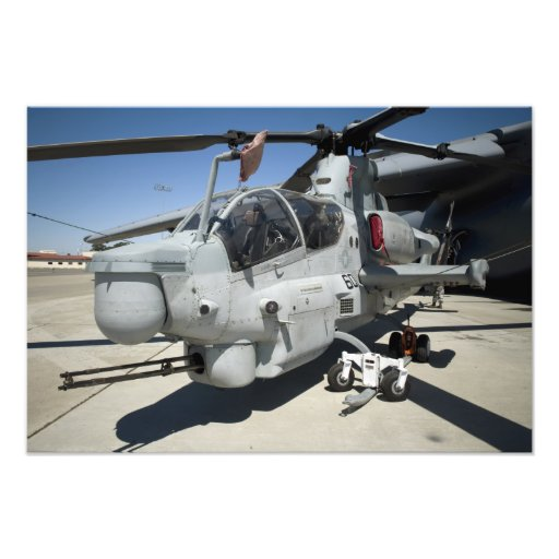 AH-1Z Super Cobra attack helicopter Photo Print