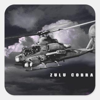 AH-1Z Viper Square Sticker
