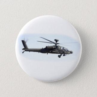 AH-64 Apache 6 Cm Round Badge