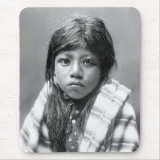 Ah Chee Lo (Native American Girl) Mouse Pad