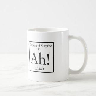 Ah Element of Surprise Basic White Mug