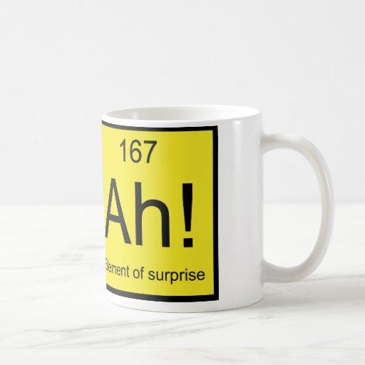 Ah! Element of Surprise Coffee Mugs