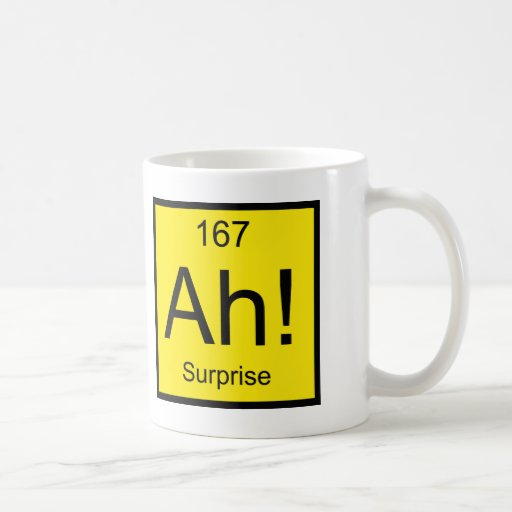 Ah! Element of Surprise Mugs
