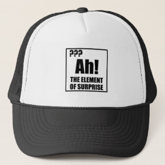 Ah Element Of Surprise Trucker Hat