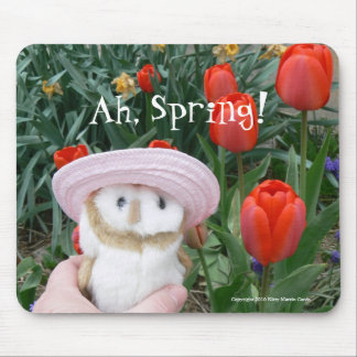 Ah, Spring! Mouse Pad