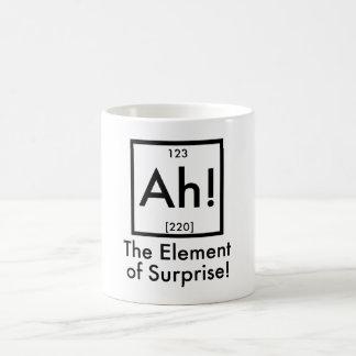 Ah The Element of Surprise Basic White Mug