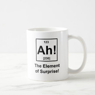 Ah! The Element of Surprise Coffee Mug
