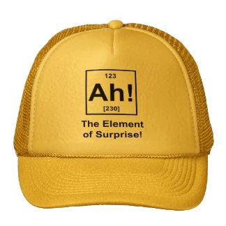 Ah! The Element of Surprise Hat