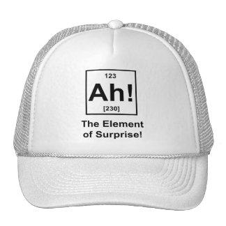 Ah! The Element of Surprise Mesh Hat