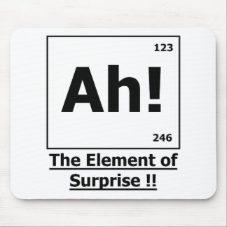 Ah ! The Element of Surprise Mousepad