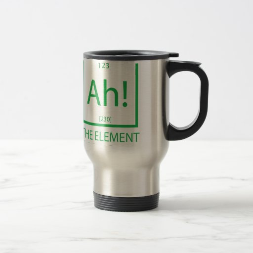 Ah the element of surprise mug