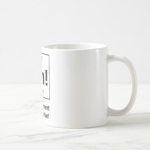 Ah! The Element of Surprise! Coffee Mugs
