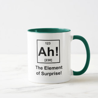 Ah! The Element of Surprise Mug