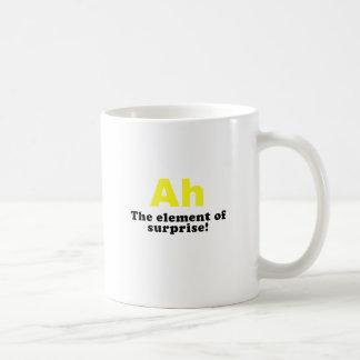 Ah The Element of Surprise Coffee Mug