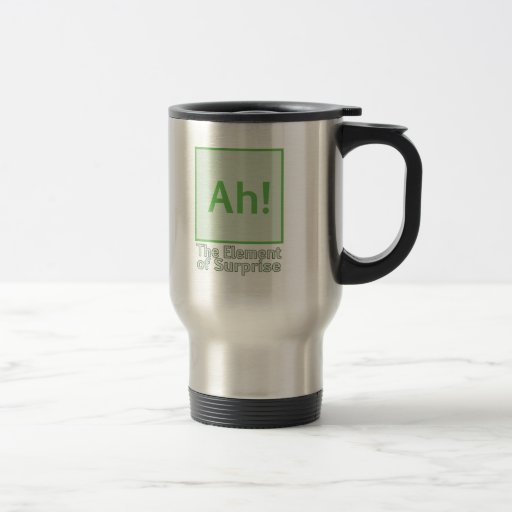 Ah! The element of surprise Coffee Mugs