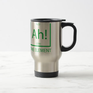 Ah the element of surprise stainless steel travel mug