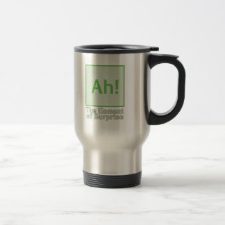 Ah! The element of surprise Stainless Steel Travel Mug