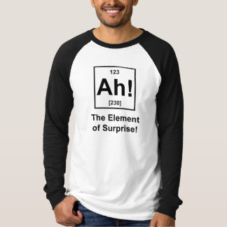 Ah! The Element of Surprise Tee Shirts