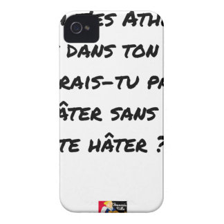 AH, YOU ES ATHÉ! BUT IN YOUR STATE, YOU WOULD NOT iPhone 4 CASE