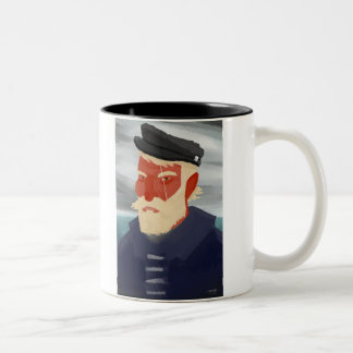 Ahab Two-Tone Coffee Mug