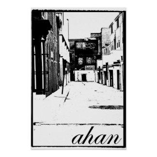 Ahan Alley Poster