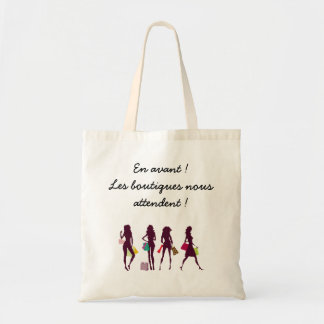 Ahead! The shops expect us! Tote Bag