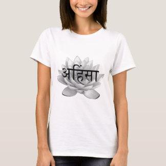 Ahimsa Lotus Flower T-Shirt