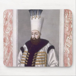 Ahmed III (1673-1736) Sultan 1703-30, from 'A Seri Mouse Pad
