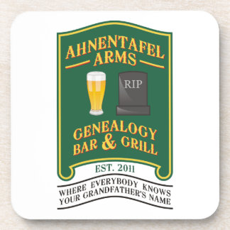 Ahnentafel Arms Genealogy Bar & Grill. Coaster
