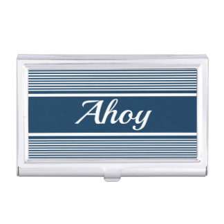 Ahoy Business Card Holder