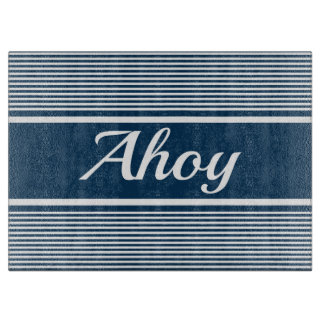 Ahoy Cutting Board