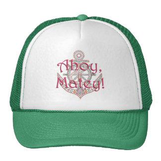 Ahoy Matey Anchor Hat