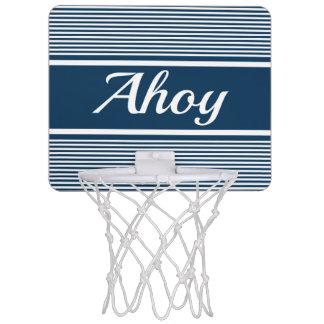 Ahoy Mini Basketball Hoop
