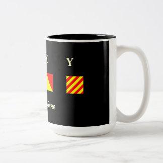 AHOY Personalized Mug