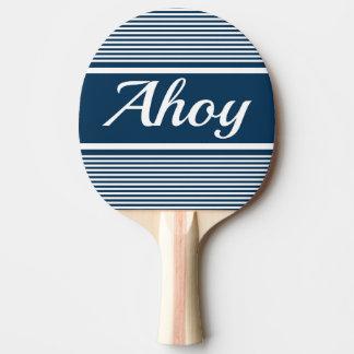 Ahoy Ping Pong Paddle