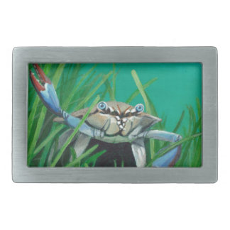 Ahoy There Meet The Under Water Sea Crab Belt Buckle