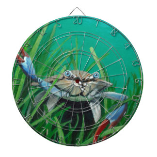 Ahoy There Meet The Under Water Sea Crab Dartboard
